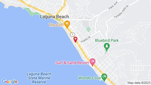 Laguna Riviera Map