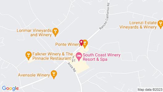 Ponte Vineyard Inn Map