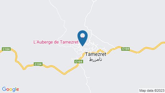 L'Auberge De Tamezret  Map