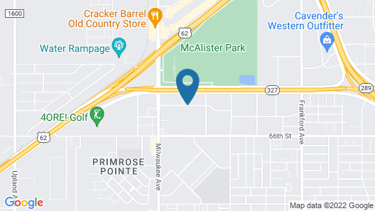 My Place Hotel-Lubbock, TX Map