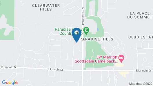 Ellen's Paradise Retreat Map