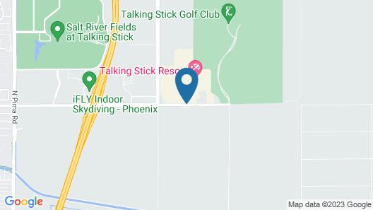 Talking Stick Resort Map