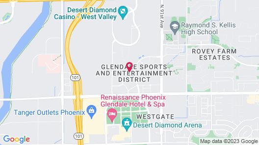 Holiday Inn Express & Suites Phoenix - Glendale Sports Dist, an IHG Hotel Map