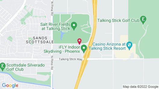 Staybridge Suites Scottsdale - Talking Stick, an IHG Hotel Map