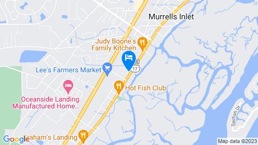 Murrells Inlet Boathouse Map