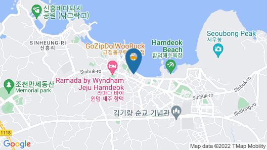 Aimi Jeju Beach Hotel Map