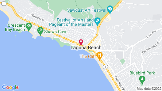 Inn at Laguna Beach Map