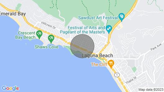 Laguna Beach Bungalow Map