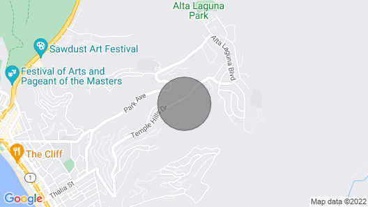 Laguna Beach Gem With Amazing View Map