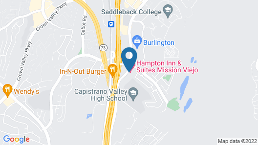 Hampton Inn & Suites Mission Viejo Map