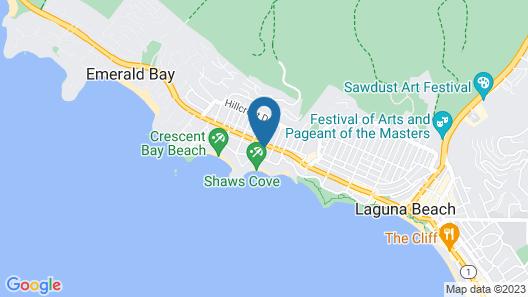 Hotel Joaquin Map