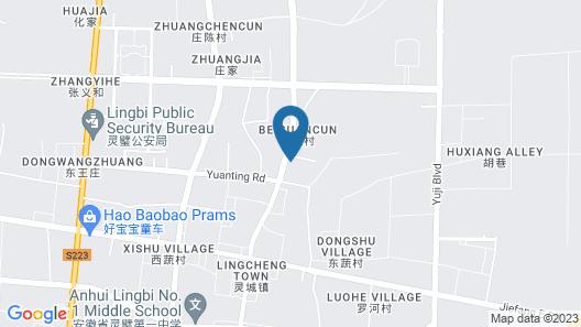 GreenTree Inn SuZhou LingBi County Middle JieFang Road Express Hotel Map
