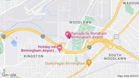Ramada by Wyndham Birmingham Airport Map