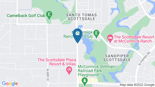 The McCormick Scottsdale Map