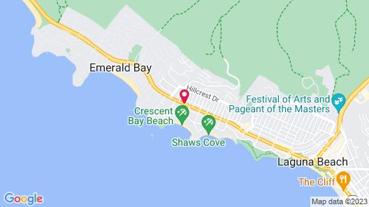 Art Hotel Laguna Beach Map
