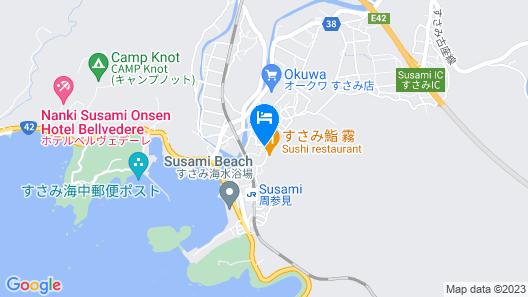 OYO Ryokan Kotonotakisou Susamicho Map
