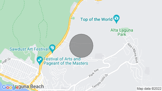 Quiet And Relaxing, Walk/bike To Beach, Village And Festivals Map