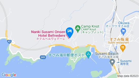 Hotel Bellevedere Map