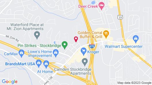 La Quinta Inn & Suites by Wyndham Atlanta Stockbridge Map