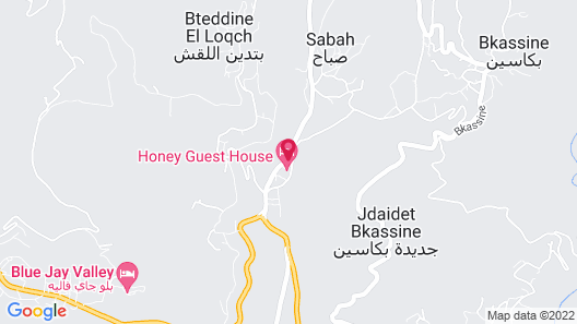 Honey Guesthouse Map