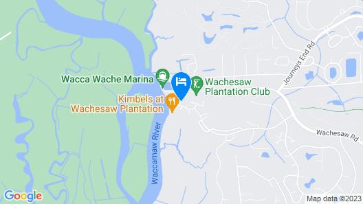 Cottage at Wachesaw Plantation, Murrells Inlet, South Carolina Map