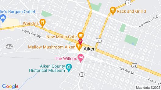 Hotel Aiken Map