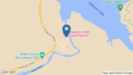 Saguaro Lake Guest Ranch Map