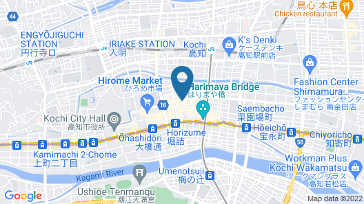 Welcome Hotel Kochi Map