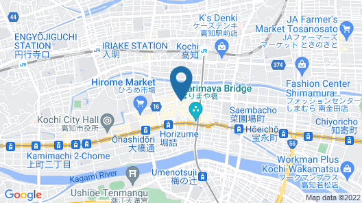 BRIGHT PARK HOTEL Map