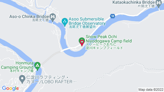 Snow Peak Ochi Niyodogawa Map