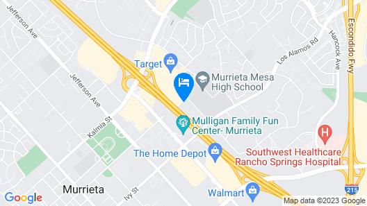 Holiday Inn Express & Suites Murrieta Map