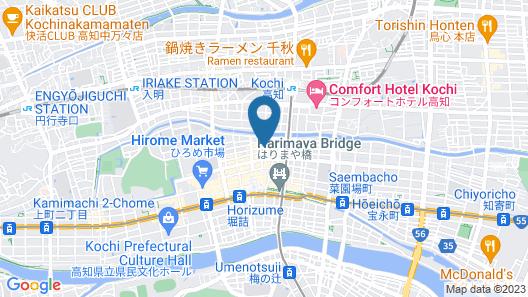Kochi Palace Hotel Map
