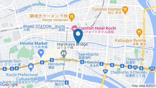 Hotel AreaOne Kochi Map