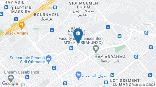 Résidence Nessma 2 Map