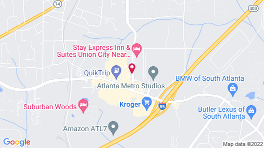 Days Inn & Suites by Wyndham Union City Map