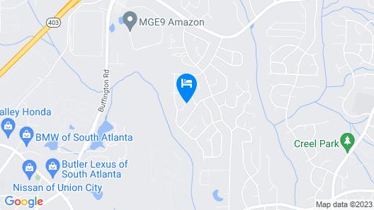 Atlanta Hartsfield Airport Guesthouse Map