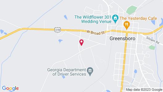 Tru By Hilton Greensboro Lake Oconee Map