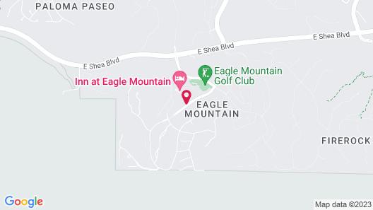Inn at Eagle Mountain Map