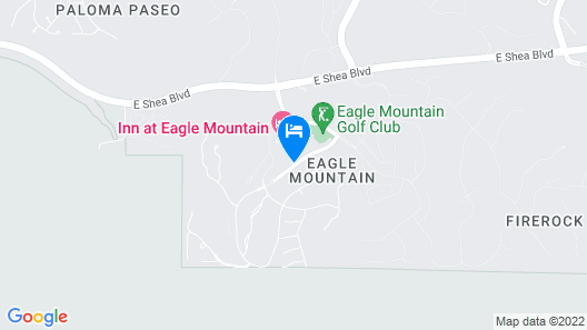 Inn at Eagle Mountain Map