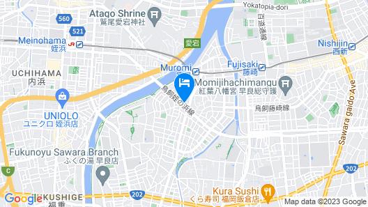 Guest House Hokorobi Map