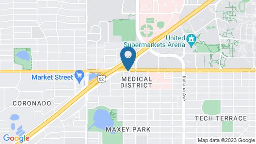 SureStay Plus Hotel by Best Western Lubbock Medical Center Map
