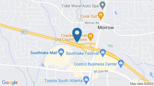 Red Roof Inn Atlanta South - Morrow Map