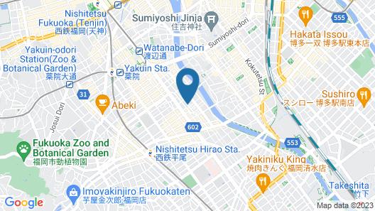 Musubi Hotel Machiya Kiyokawa 1 Map