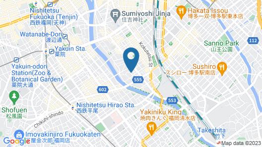Musubi Hotel Machiya Minoshima 2 Map