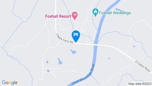 Foxhall Resort  Map