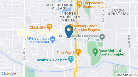 DoubleTree by Hilton Phoenix North Map