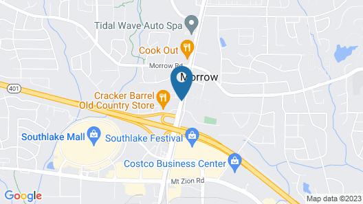 Best Western Southlake Inn Map