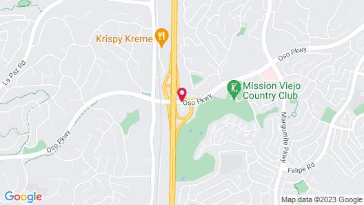 Fairfield Inn by Marriott Mission Viejo / Orange County Map
