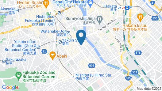 Forest Inn Tenjin Minami Map
