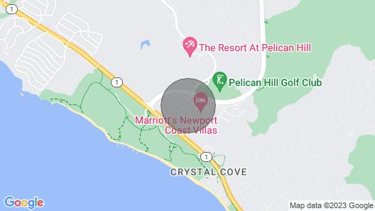 WE Request TOP Floor /ocean View / NEW Buildingmarriott Newport Coast Villas Map